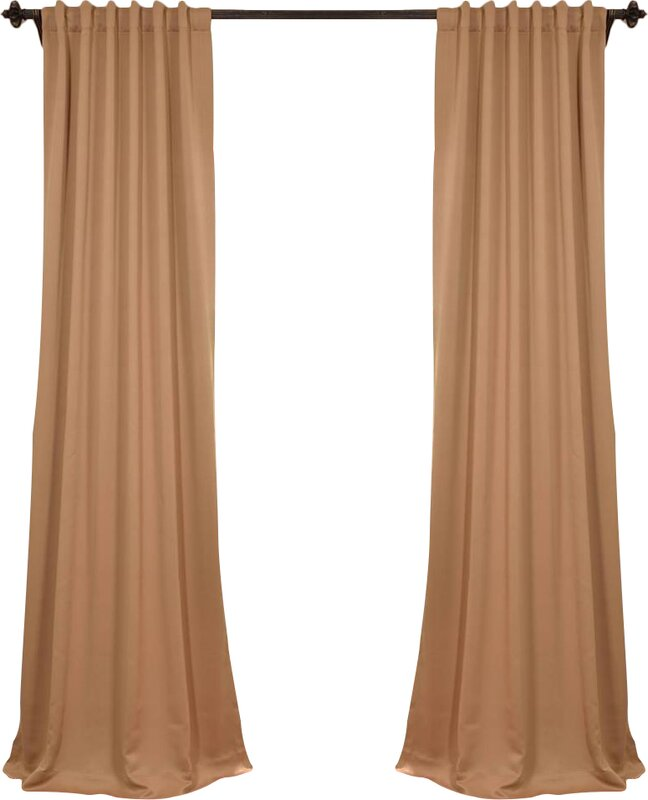 Wide curtain rods