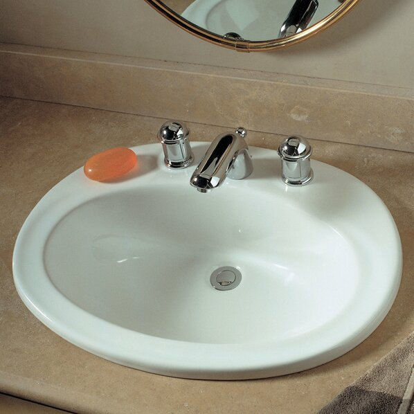 Bathroom sinks drop