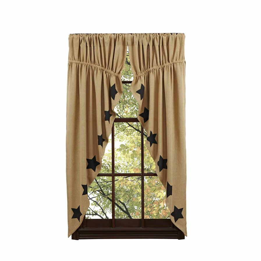 Drawstring curtain rods