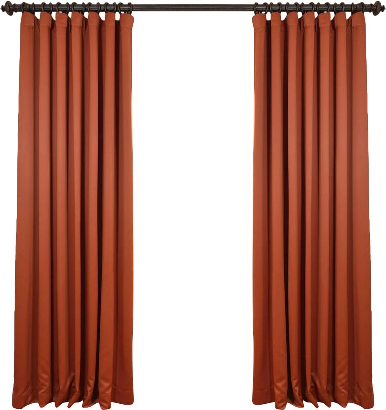 Extra wide curtain rods