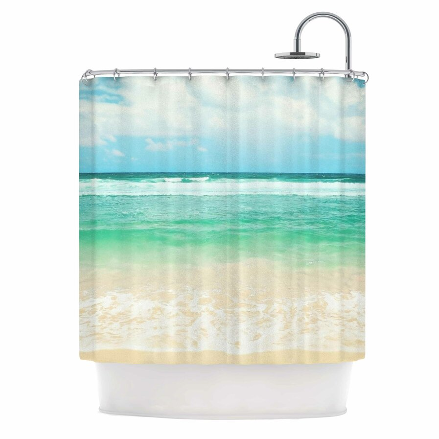Coastal shower curtain 2
