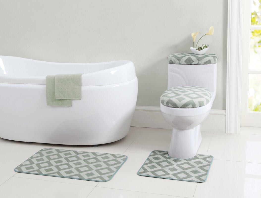 Bathroom rug sets on sale