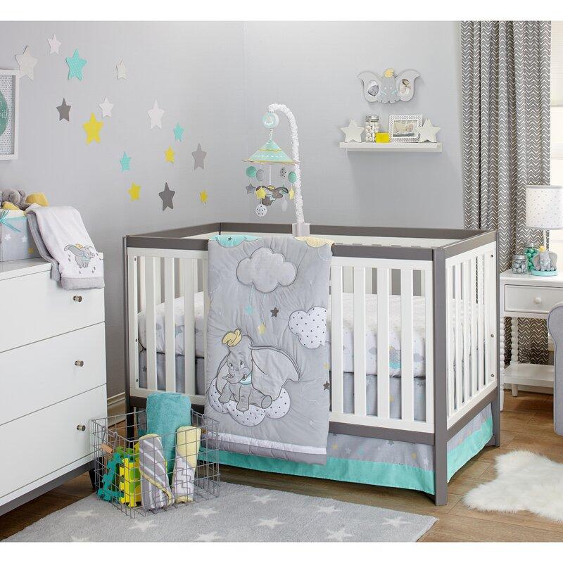 Disney Dumbo Dream Big 3 Piece Crib Bedding Set & Reviews | Wayfair