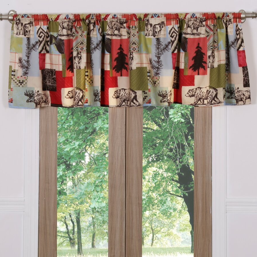 Curtains for a cabin
