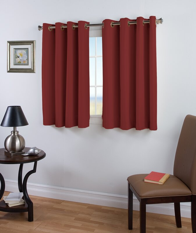 Grommet cafe curtains