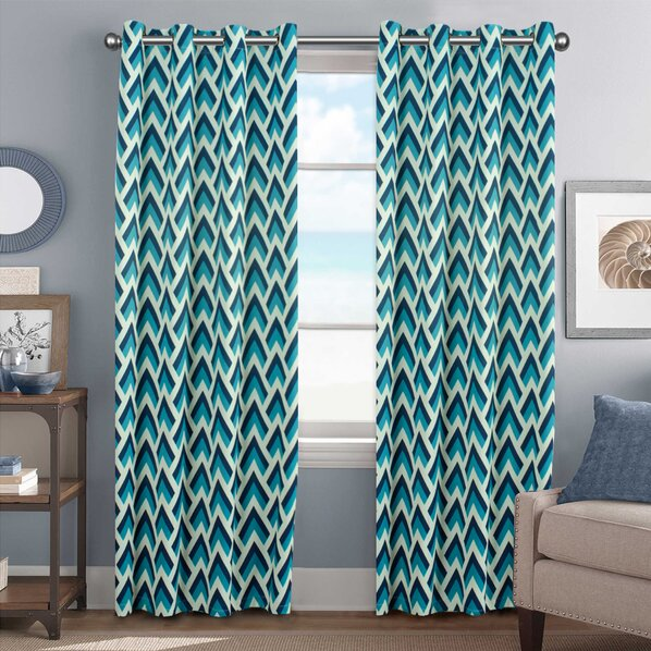 Cheap turquoise curtains 2