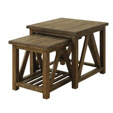 Loon Peak Bluffstone  Piece Nesting Tables