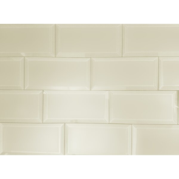 Cream subway tile
