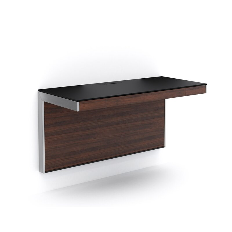 Sequel Wall-Mounted Floating Desk & Reviews | AllModern