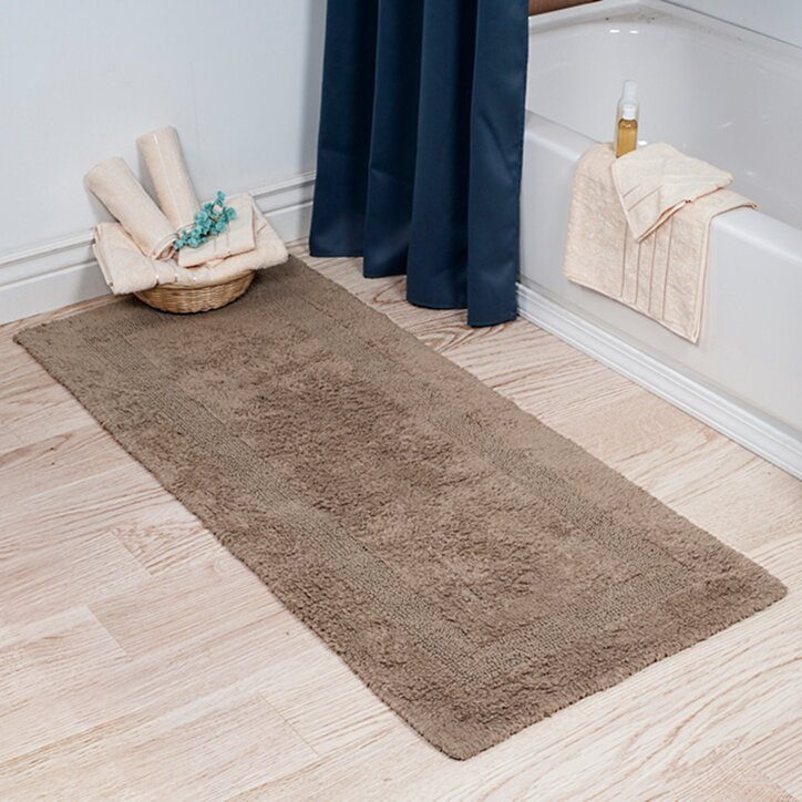 Extra long bathroom rugs