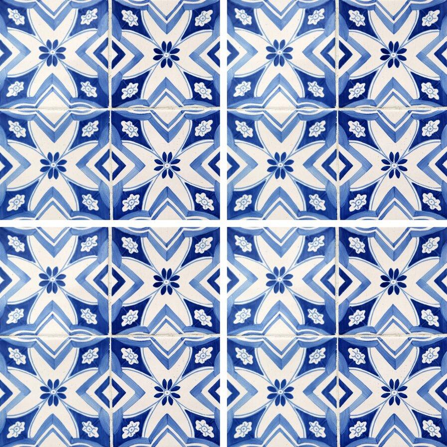 Ceramic tile decals for kitchen
