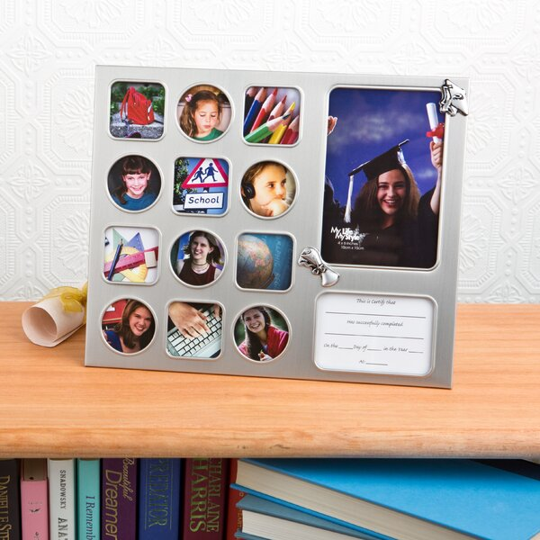 Colorations Wooden Photo Frame Ornaments  Set of 12