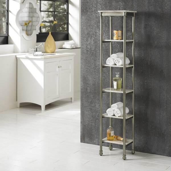 Bathroom standing shelf