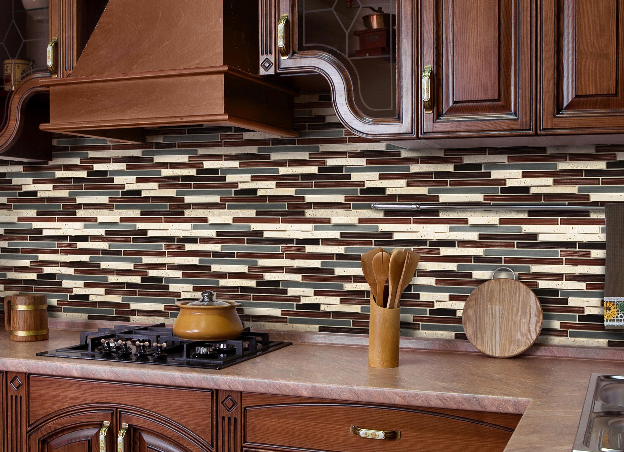 Peel and stick tile for backsplash