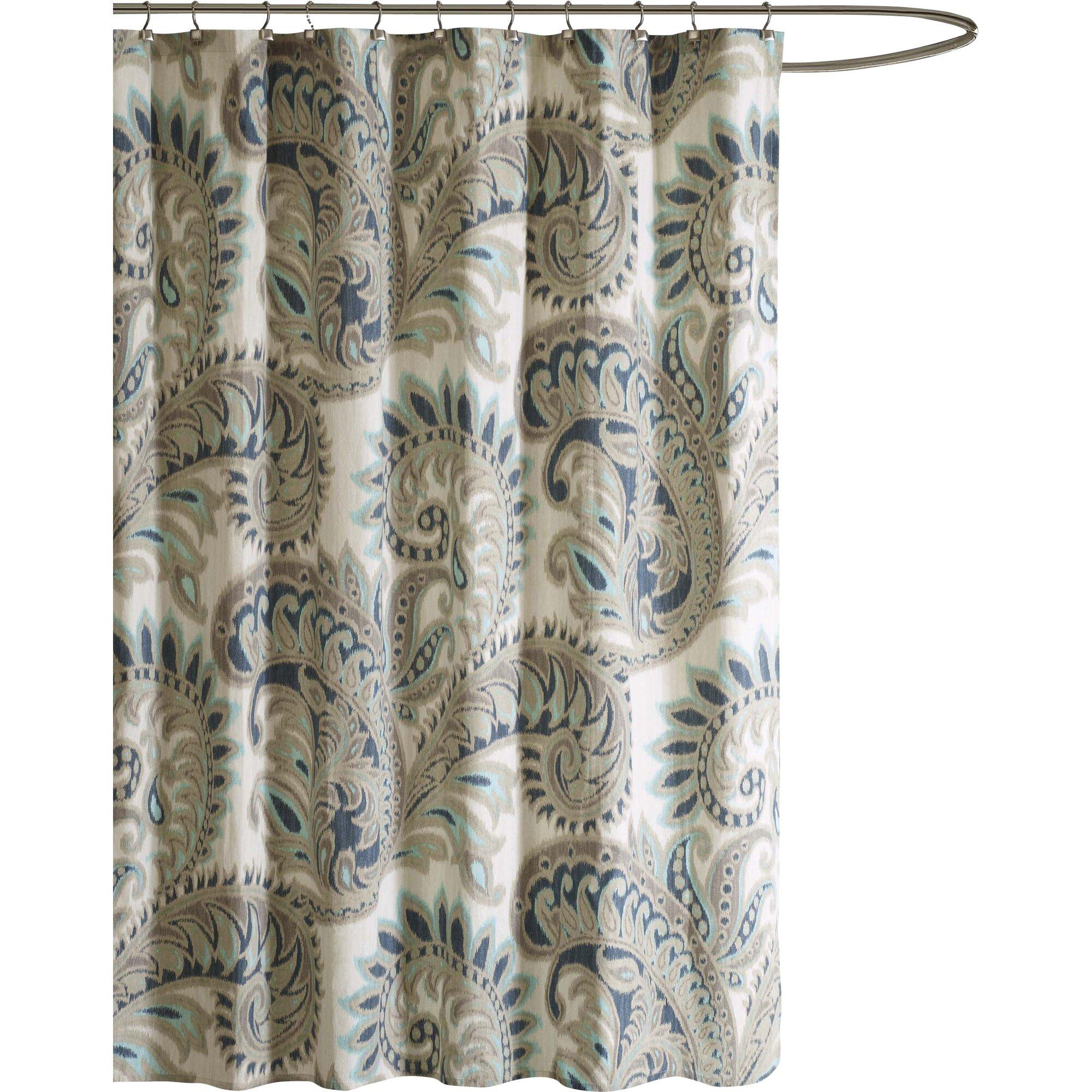 Thomas paul octopus shower curtain