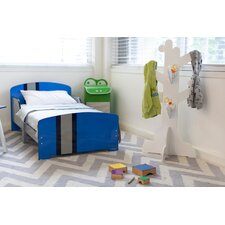 Classically Cool Racing Stripes Toddler Bed By Pkolino