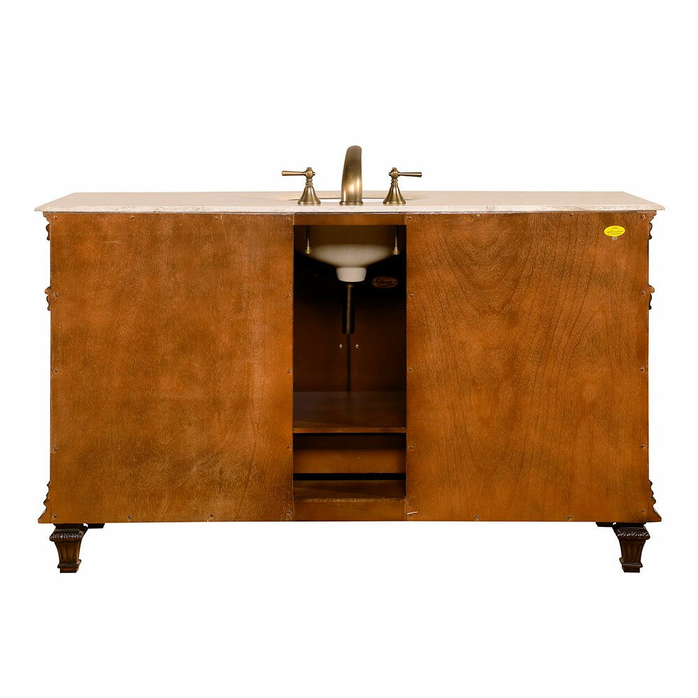Bathroom vanities 60 single sink