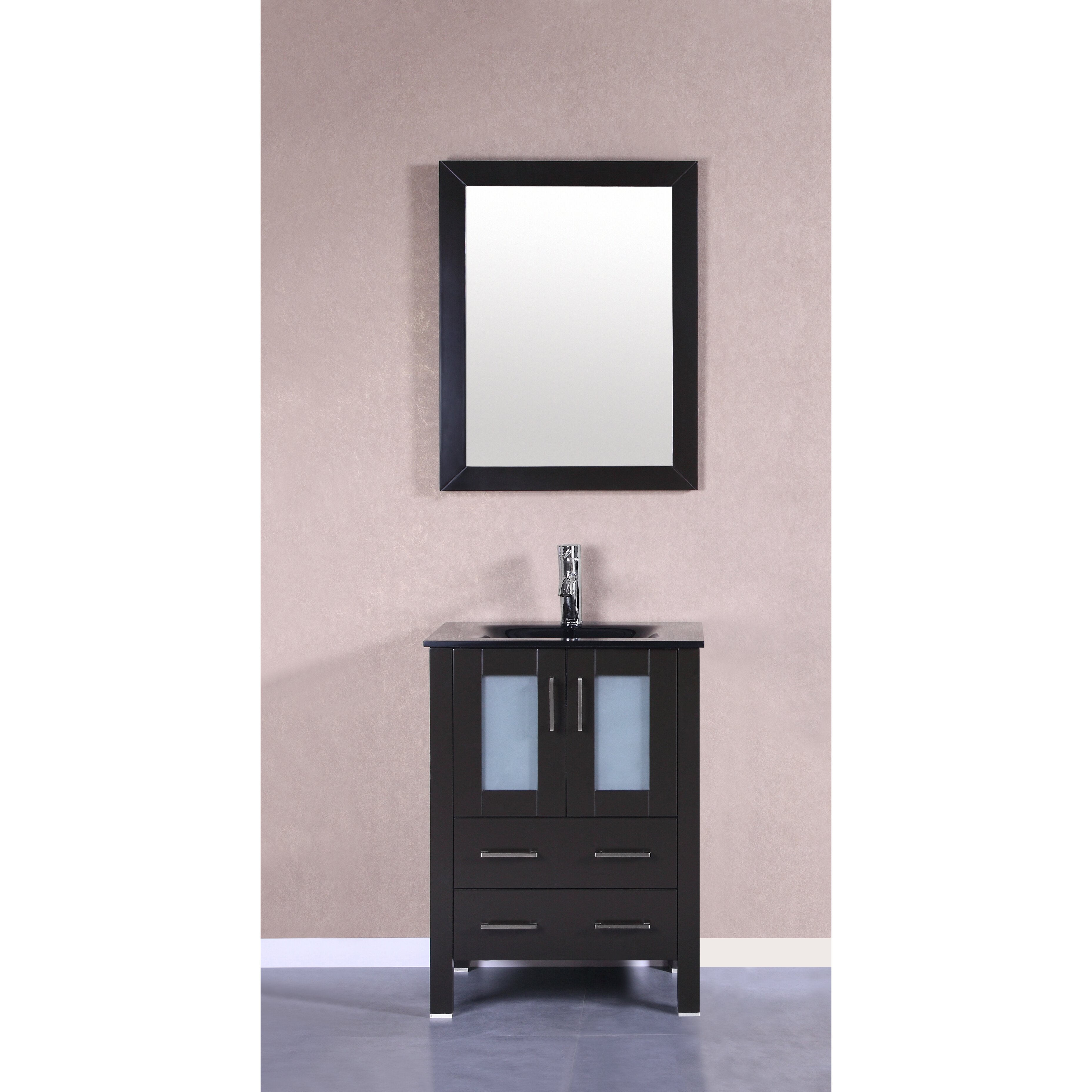 Bosconi Four Single Vanity Set With Mirror Wayfair