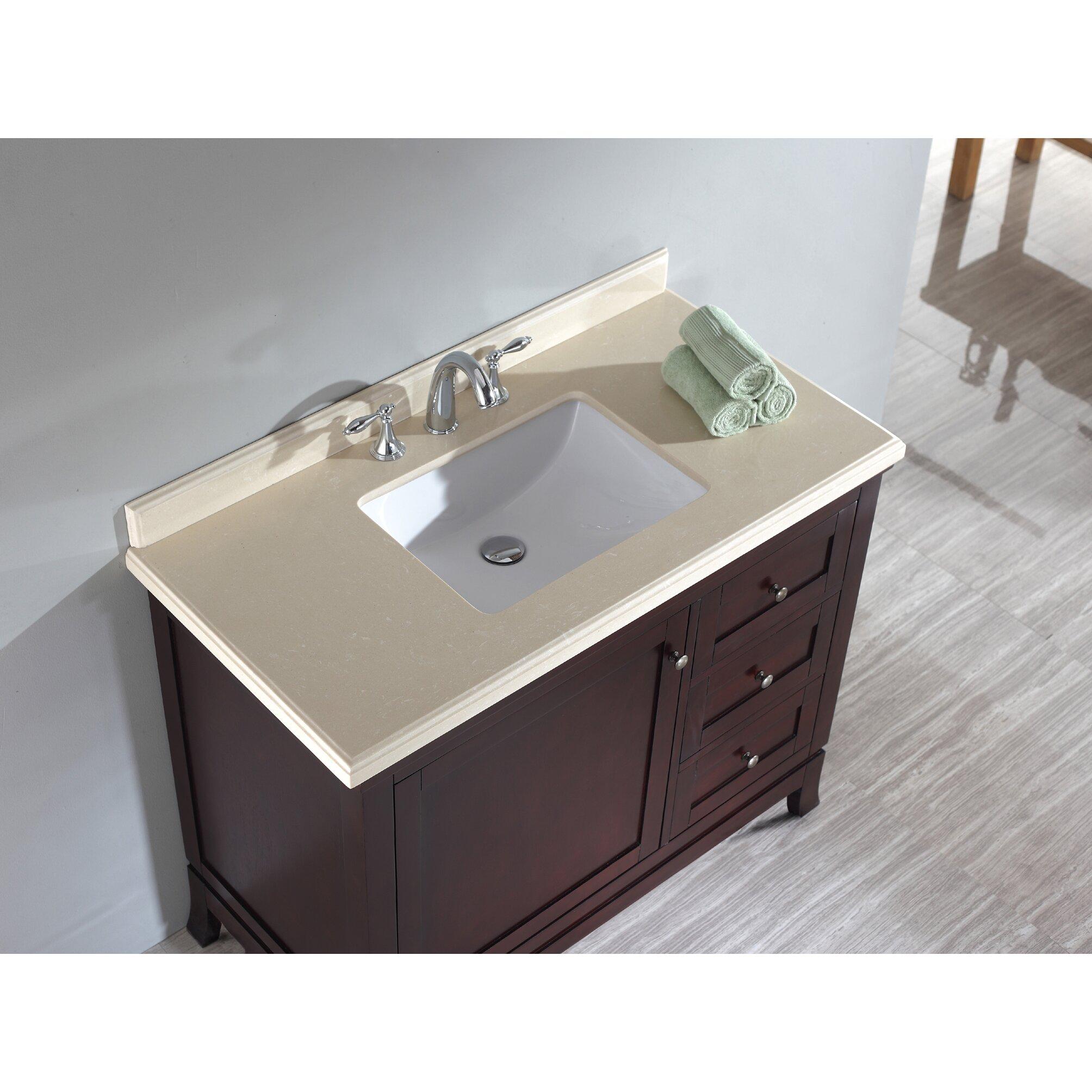 Bathroom vanities 42 inch