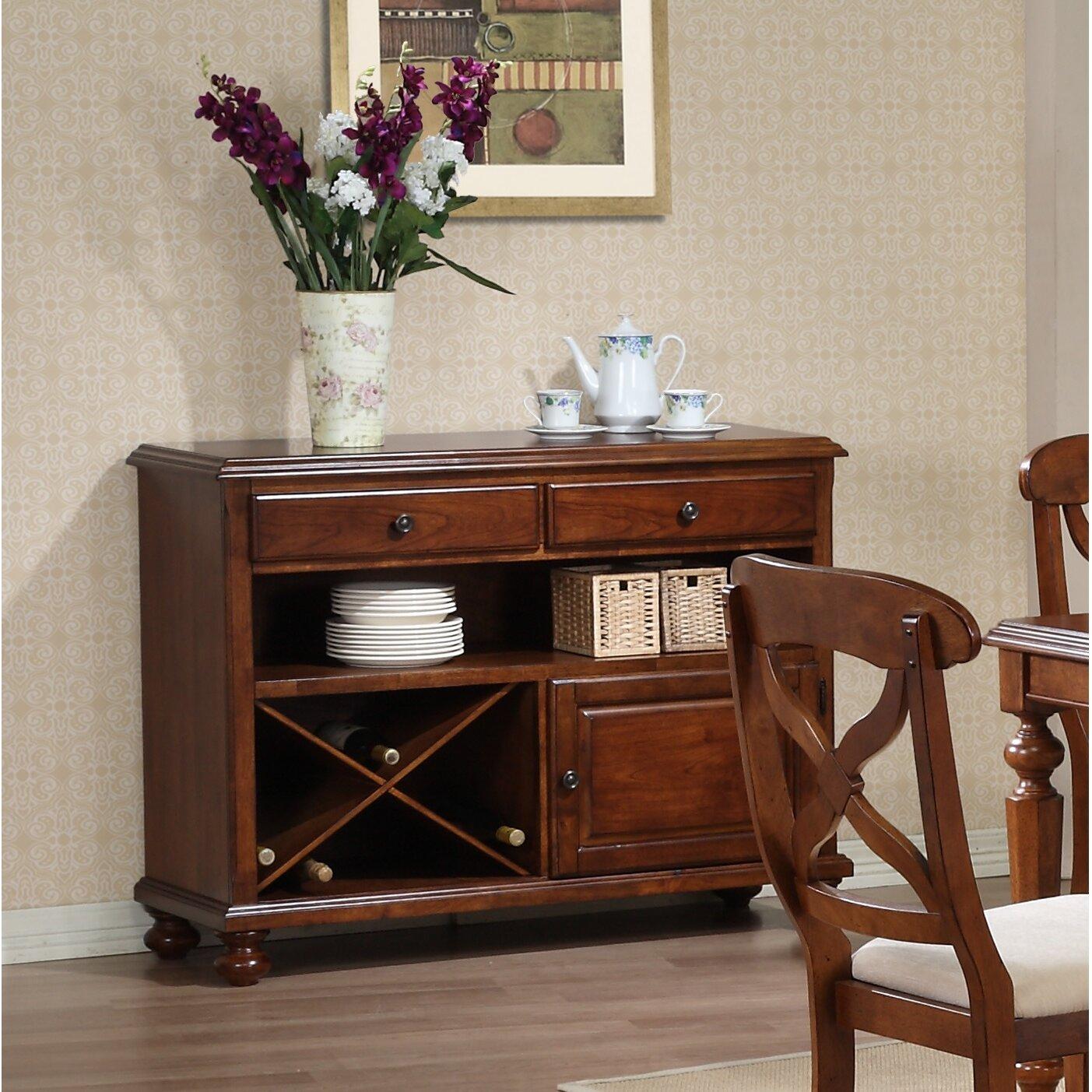 Furniture Kitchen Dining Furniture Wine Bottle Storage Equipped