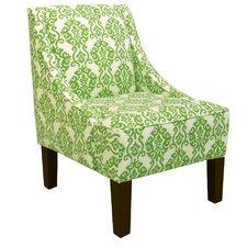 Luminary Emerald Roth Armchair