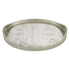 Manta Silver Oval Tray