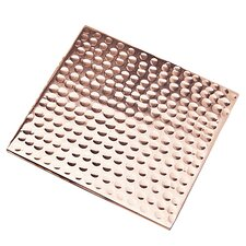 Kira Square Copper & Stainless Steel Coaster (Set of 4)