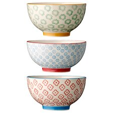 Morell 6-Piece Ceramic Soup Bowl Set