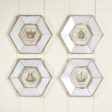 Mantova Mirrored Framed Print (Set of 4)