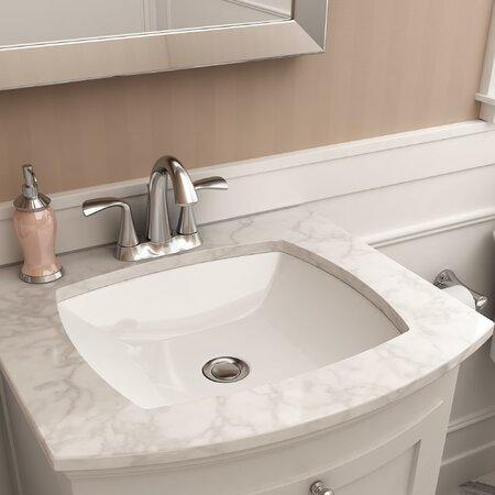 american standard edgemere rectangular undermount bathroom sink with overflow asd10404