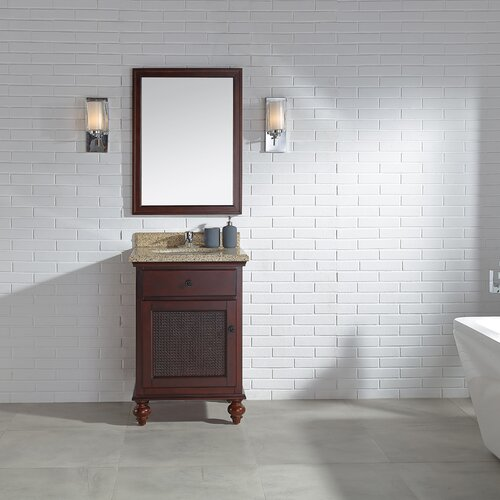 Coupon Lana 24 Single Bathroom Vanity Set