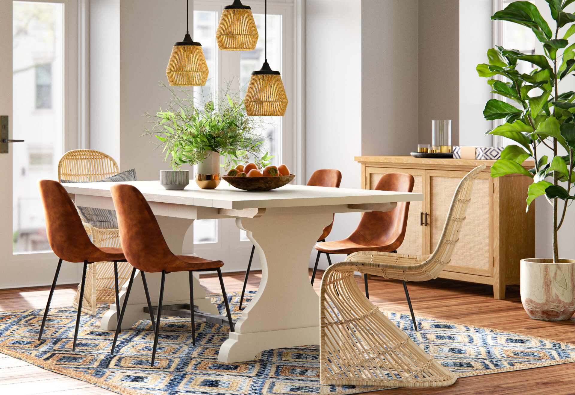 7 Ways To Effortlessly Mix And Match Dining Chairs Wayfair Co Uk