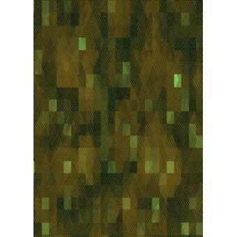 World Menagerie Crafa Patterned Green Yellow Brown Area Rug Wayfair