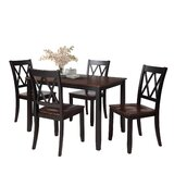 Wylam 5 - Piece Counter Height Dining Set by Red Barrel Studio®