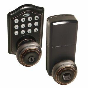 Honeywell Electronic Entry Door Knob  sc 1 st  Wayfair & Door Knobs Youu0027ll Love | Wayfair pezcame.com