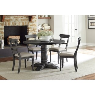 Sandown 5 Piece Dining Set by Three Posts Wonderful