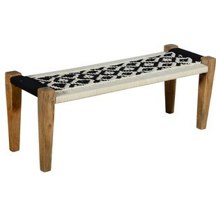 Hankins Upholstered Bench by Union Rustic