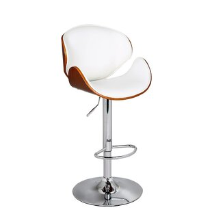 Cioffi Adjustable Height Bar Stool George Oliver