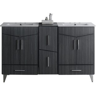 Dunand 62 Double Bathroom Vanity Set by Royal Purple Bath Kitchen