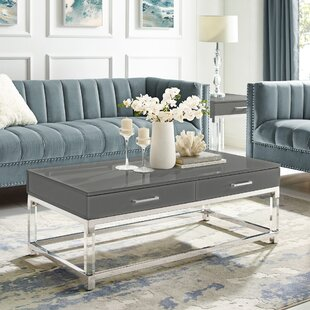 Leeann Coffee Table with Storage