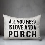 All You Need Is Love Pillow Wayfair