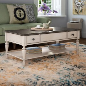 Ornithogale Coffee Table with Lift Top by Lark Manor