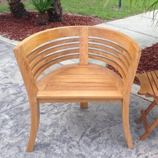 Best Price Half Moon Teak Dining Arm Chair by Chic Teak Reviews (2019) & Buyer's Guide