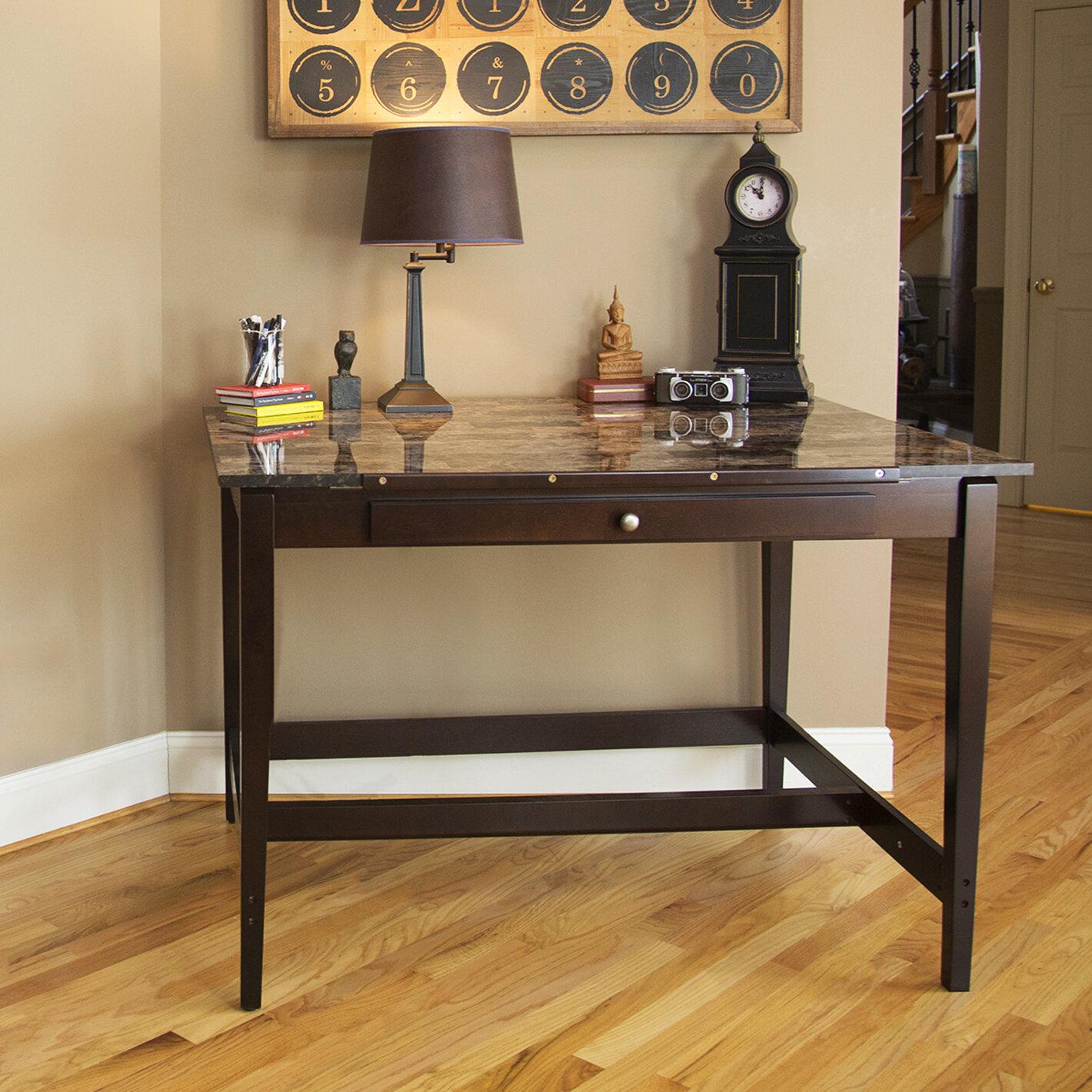 Red Barrel Studio Orlinski Solid Wood Desk Wayfair
