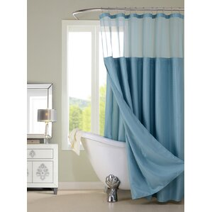 turquoise and coral shower curtain. Hotel Shower Curtain Blue Curtains You ll Love