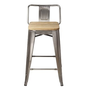Top Reviews Mcreynolds 24 Bar Stool (Set of 4) by Williston Forge Reviews (2019) & Buyer's Guide