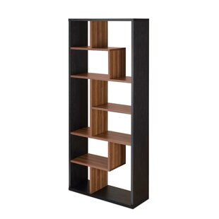Laurene Geometric Bookcase