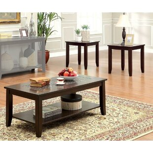 Fenwick 3 Piece Coffee Table Set by Canora Grey