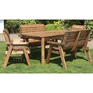 6 Seater Dining Set by Woodhaven Hill