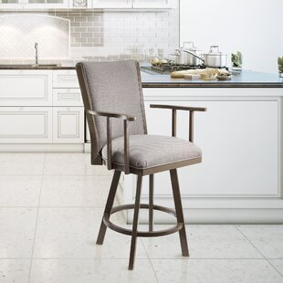 Bohman 26 Swivel Bar Stool by Latitude Run